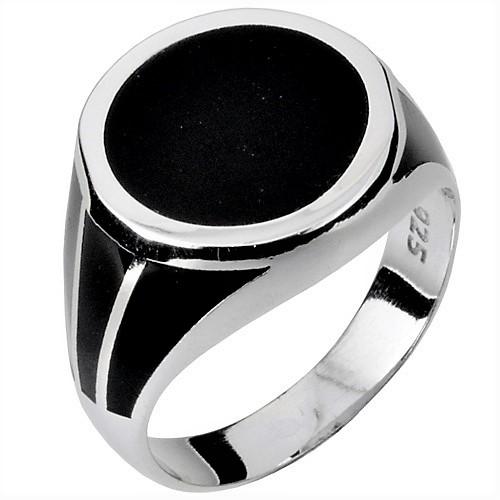fd5f862467 Ασημένιο ανδρικό δαχτυλίδι 925 με όνυχα