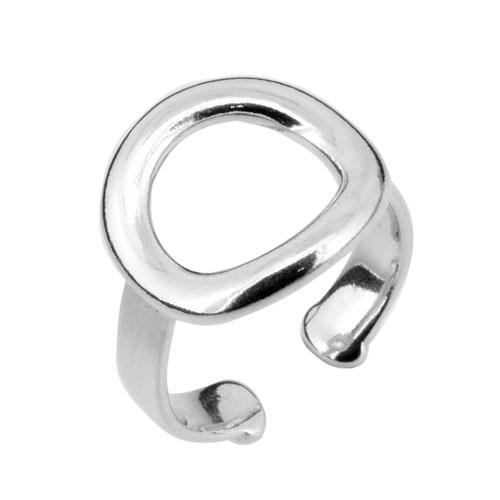 Ασημένιο δαχτυλίδι κύκλος 925