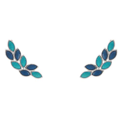Ασημένια σκουλαρίκια ear cuff 925