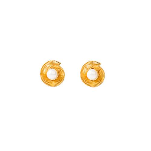 Ασημένια χειροποίητα σκουλαρίκια 925 με μαργαριτάρια