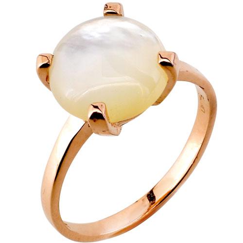 Μονόπετρο δαχτυλίδι από ροζ χρυσό Κ14 με φίλντισι
