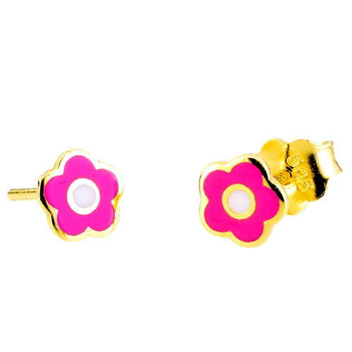 Παιδικά χρυσά σκουλαρίκια Κ14
