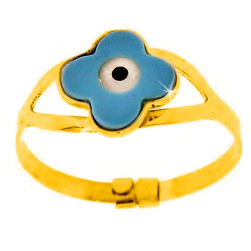 Παιδικό χρυσό  δαχτυλίδι Κ9